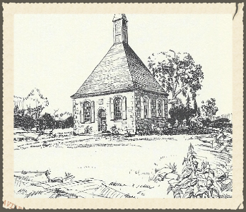 Completed 1728 church