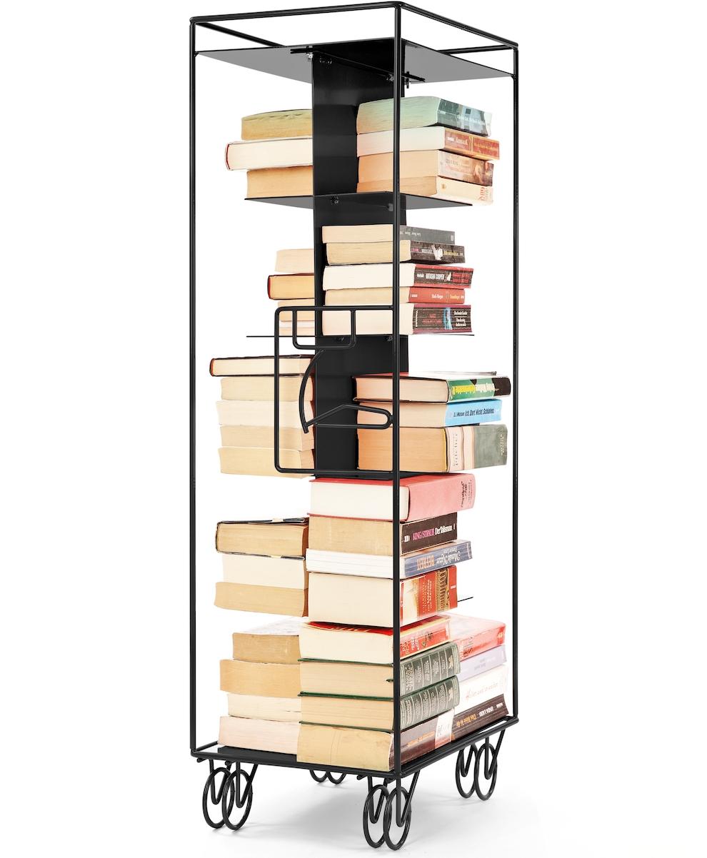 bordbar outline_RAL9017_traffic black matt_insert for books with books kopi.jpg