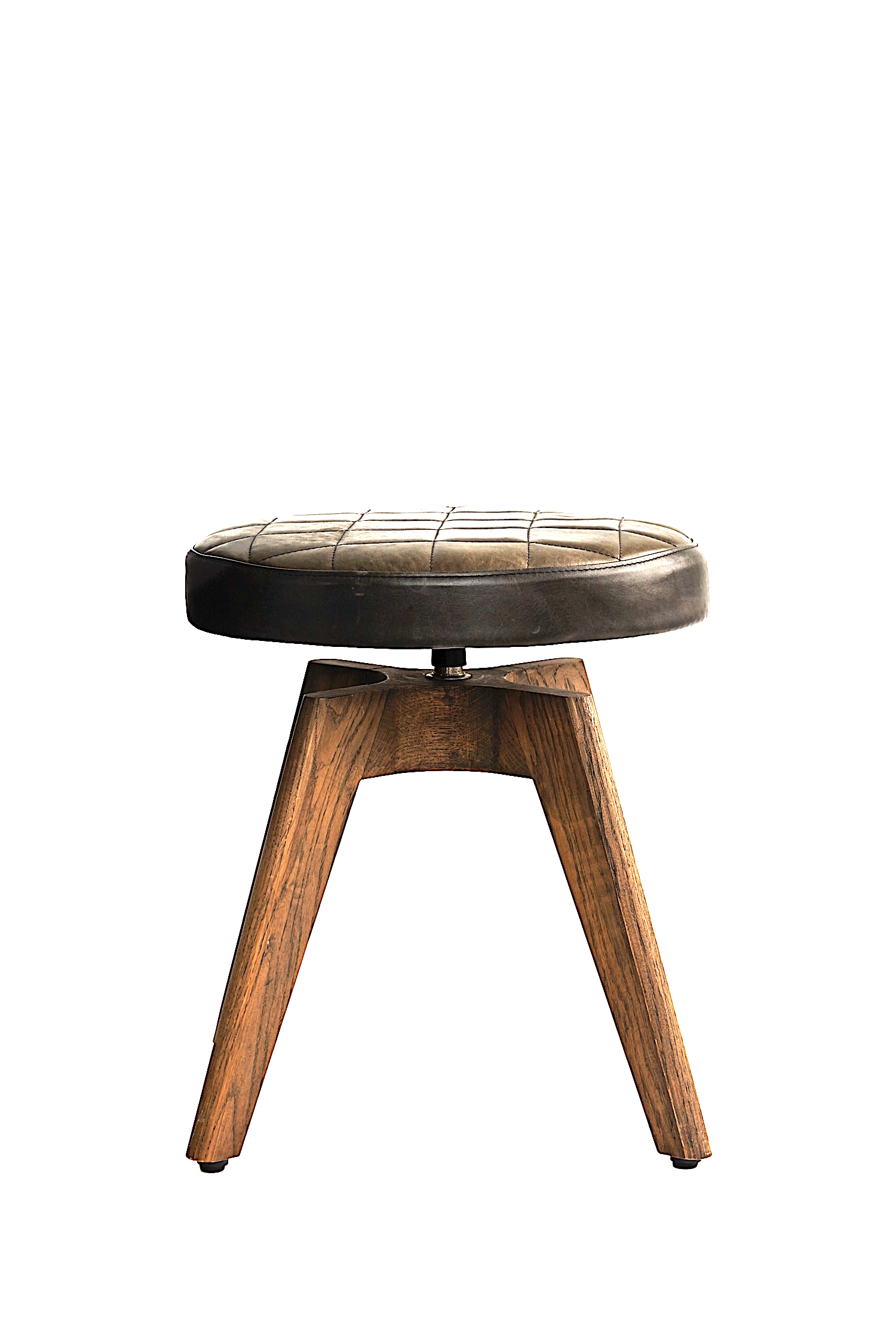 ALPHI wood stool