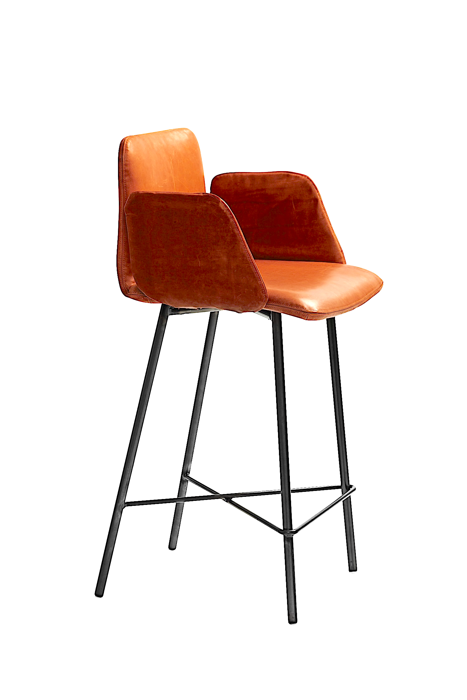 ALPHI barstool with arms