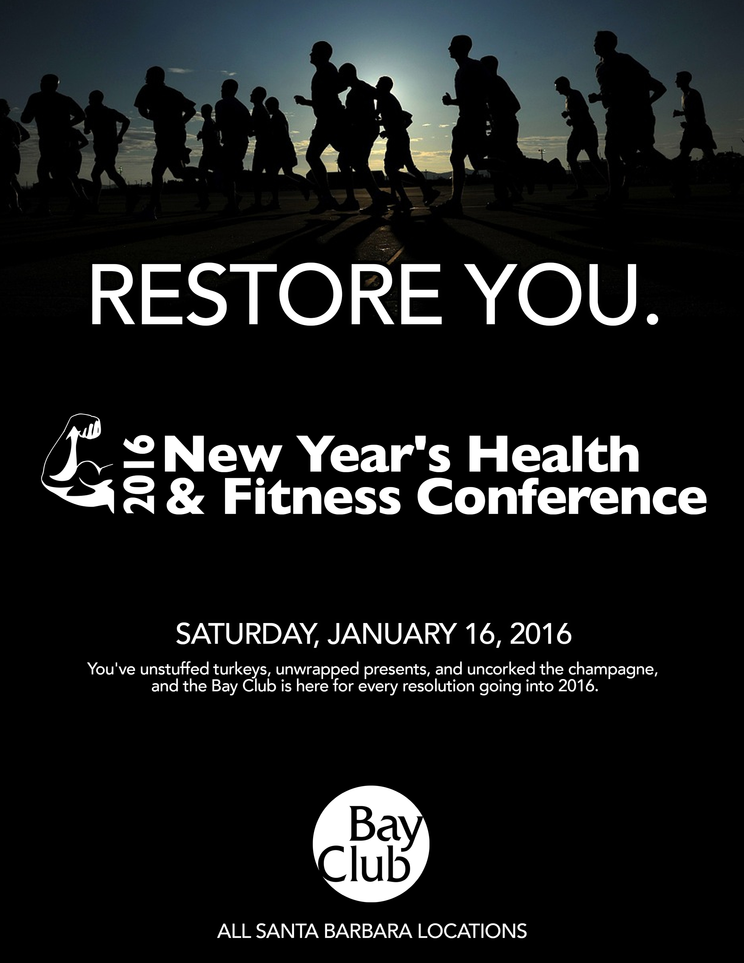 Bay Club | Downtown Santa Barbara | Flyer 2016