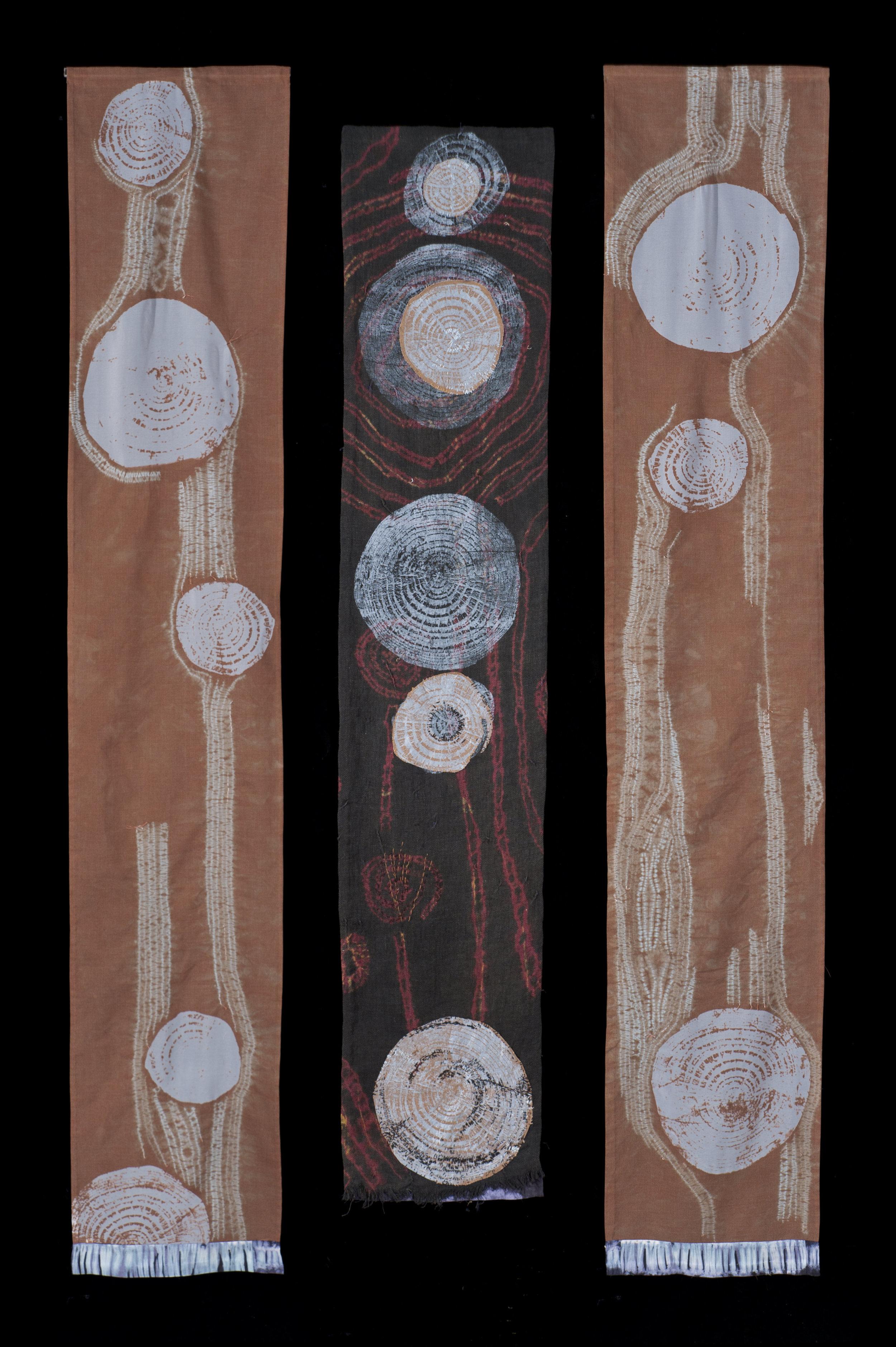 Mokume Triptych