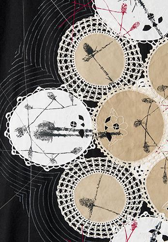 Black Hexagon- detail