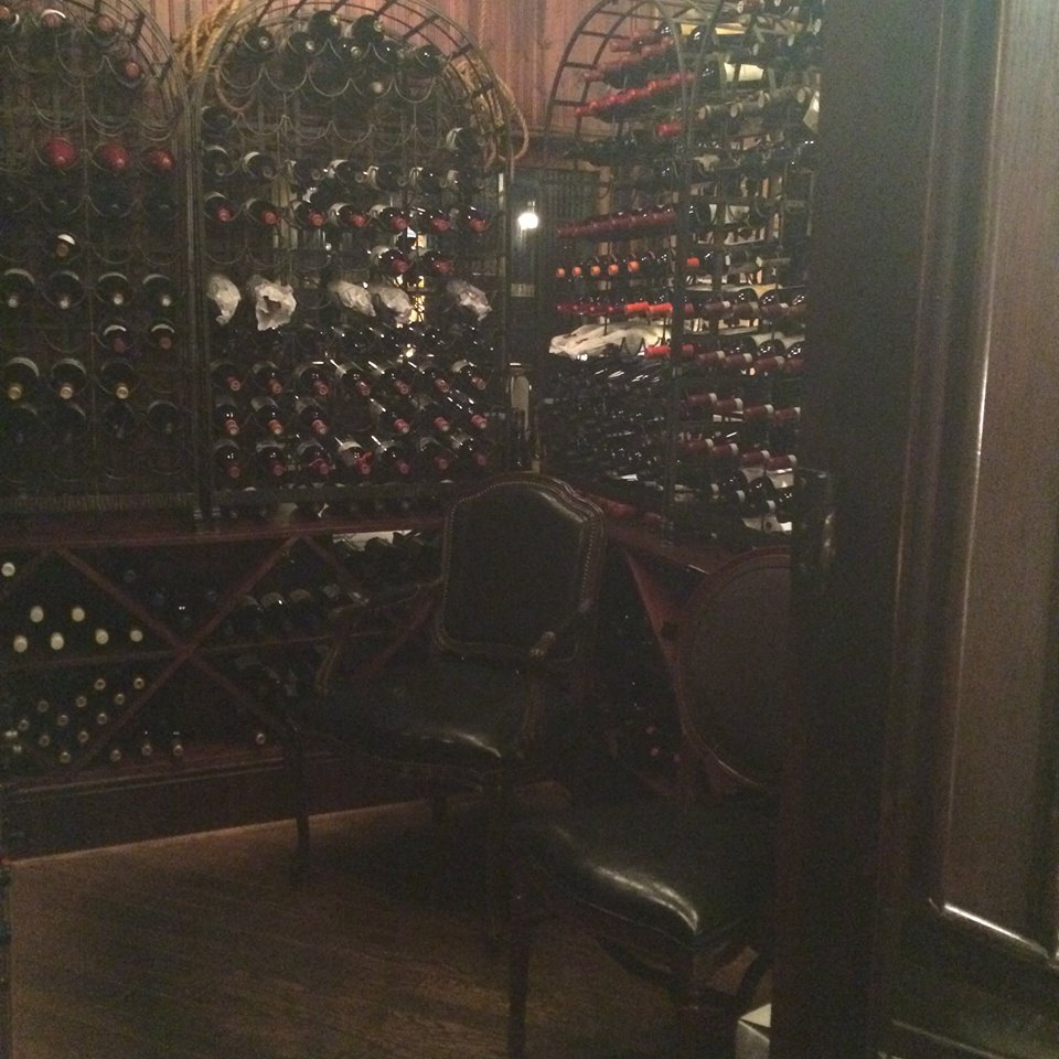 The wine cage area. Our team recorded a fair amount of relevant EVP and ITC clips in this area. Photograph was taken by Tari Anne Kareidis, an active member of our Facebook group Haunted Nova Scotia.