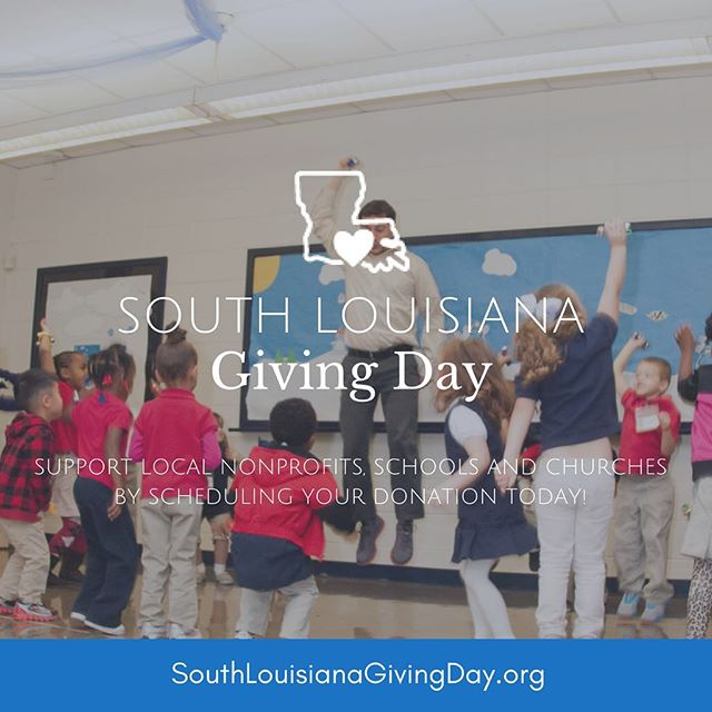 To help us fund Phase 1.3 of our Master Plan, we are participating in South Louisiana Giving Day! Scheduled donations begin TODAY! Link to donate to JPG through SOLA website in bio.  @solagivingday #IGiveSOLA #SOLAGivingDay
