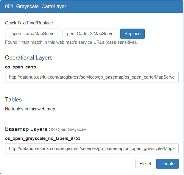 Migrating your MXD and Web Maps from DataHub Services to