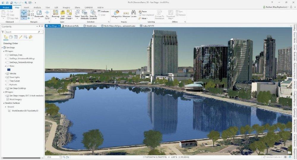 Realistic water rendering.