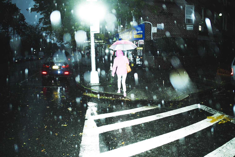 Sudden rain in Queens, NY 2015   ©    Go Nakamura     photography
