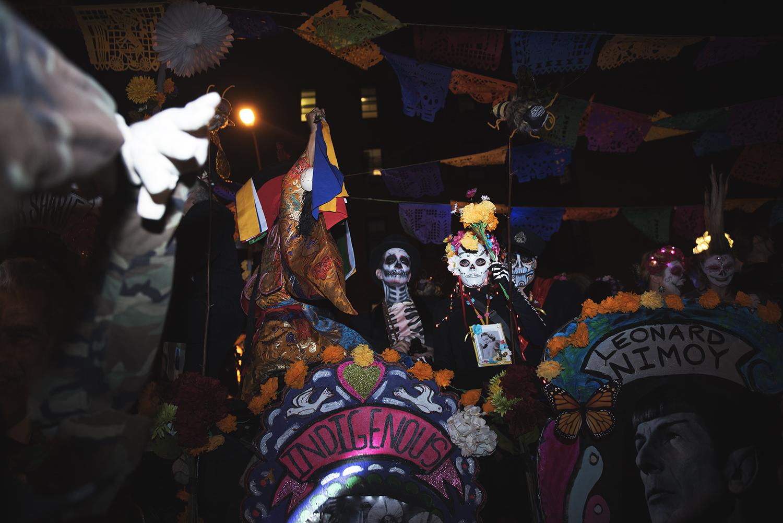 Halloween Parade in Manhattan NY. 2015   ©    Go Nakamura     photography