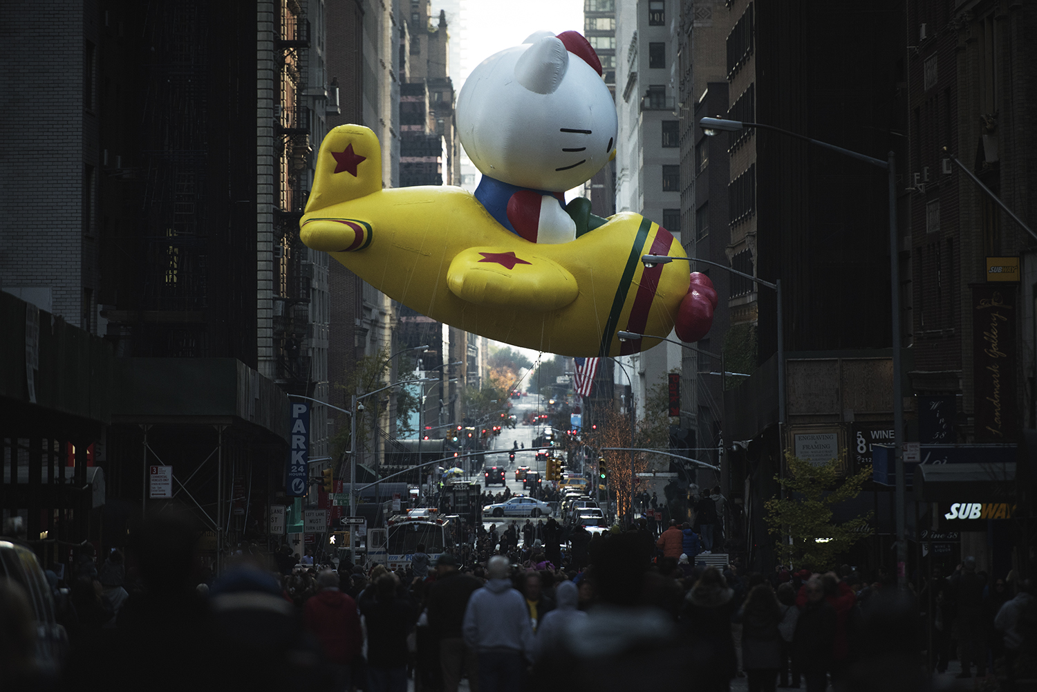 Thanksgiving Day Parade. Manhattan, NY. 2015   ©    Go Nakamura     photography