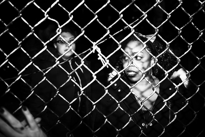 anti-police brutality demonstrators in Brooklyn, NY. 2016   ©    Go Nakamura     photography