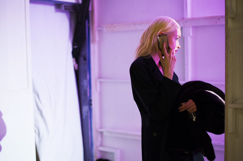 New York Fashion Week backstage.Manhattan, NY.2016   ©    Go Nakamura     photography