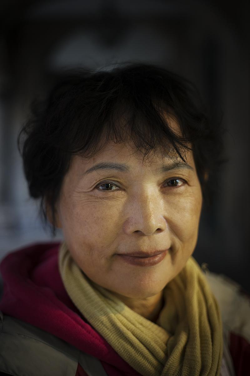 face of the day. Akemi Nakamura from Japan.