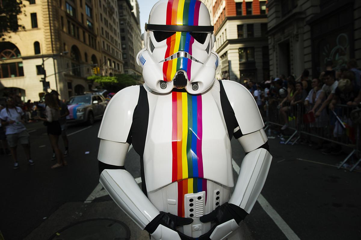 Pride Parade NYC 2016.Manhattan, NY.2016 ©Go Nakamura photography
