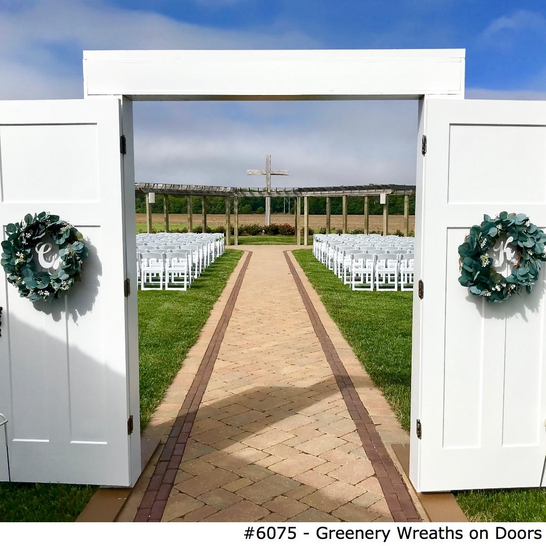 6075 Greenery Wreaths on Doors.jpg