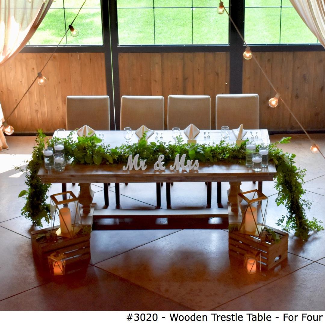 3020 Wooden Trestle Table - For Four-1.jpg