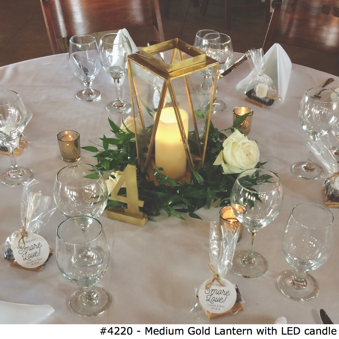 4220 Medium Gold Lantern with LED candle.jpg