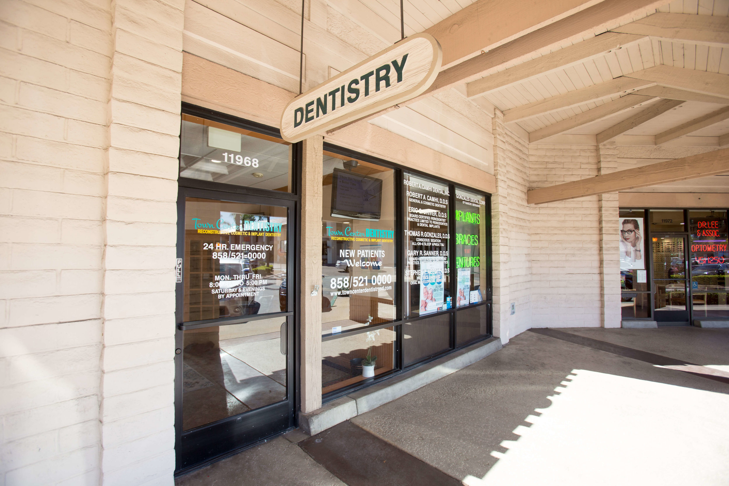 Come to Town Center Dentistry in Rancho Bernardo