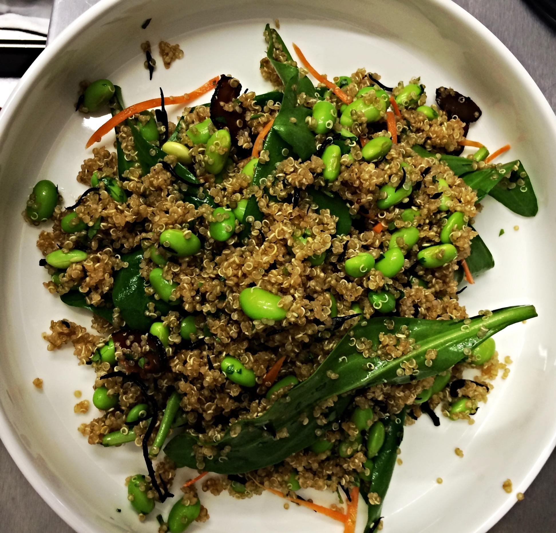 Asian quinoa salad