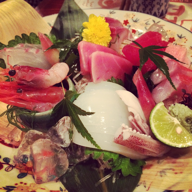 Stunning sashimi platters are a good place to start at Kaikaya