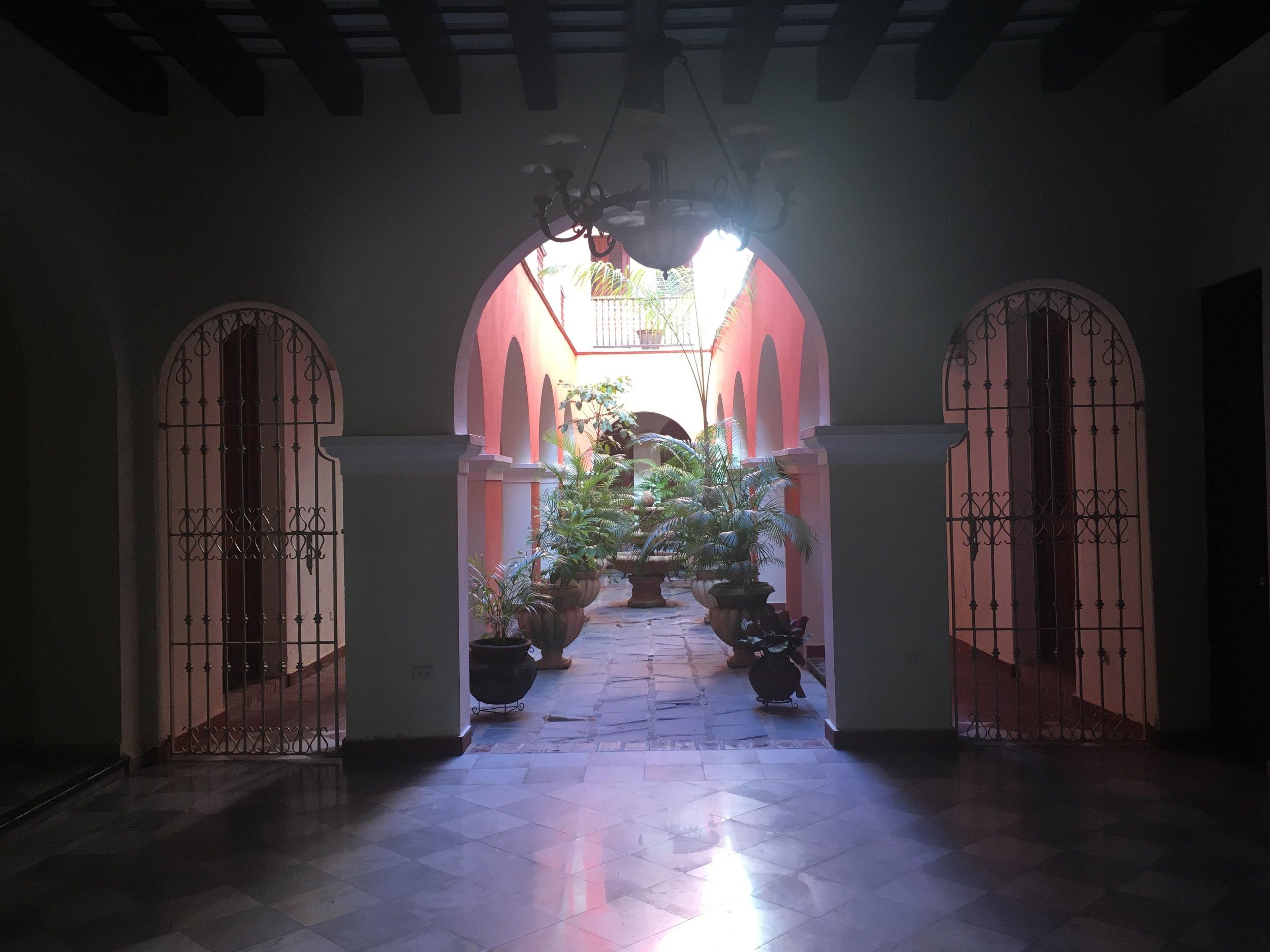 AirBnb in colonial building in Old San Juan