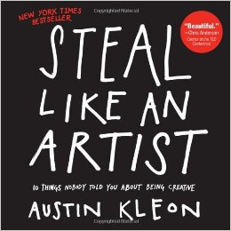 Steal Like an Artist by Austin Kleon - writer who draws
