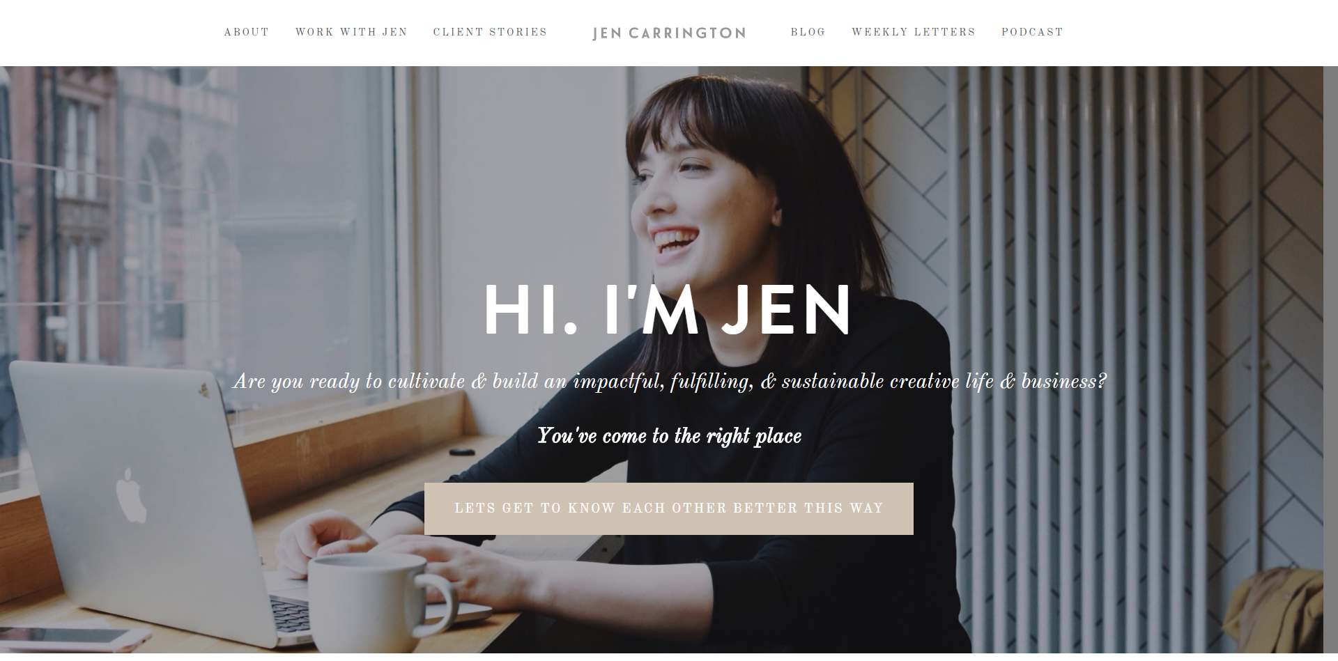 Choose More with Creative Coach Jen Carrington, for big-hearted creatives
