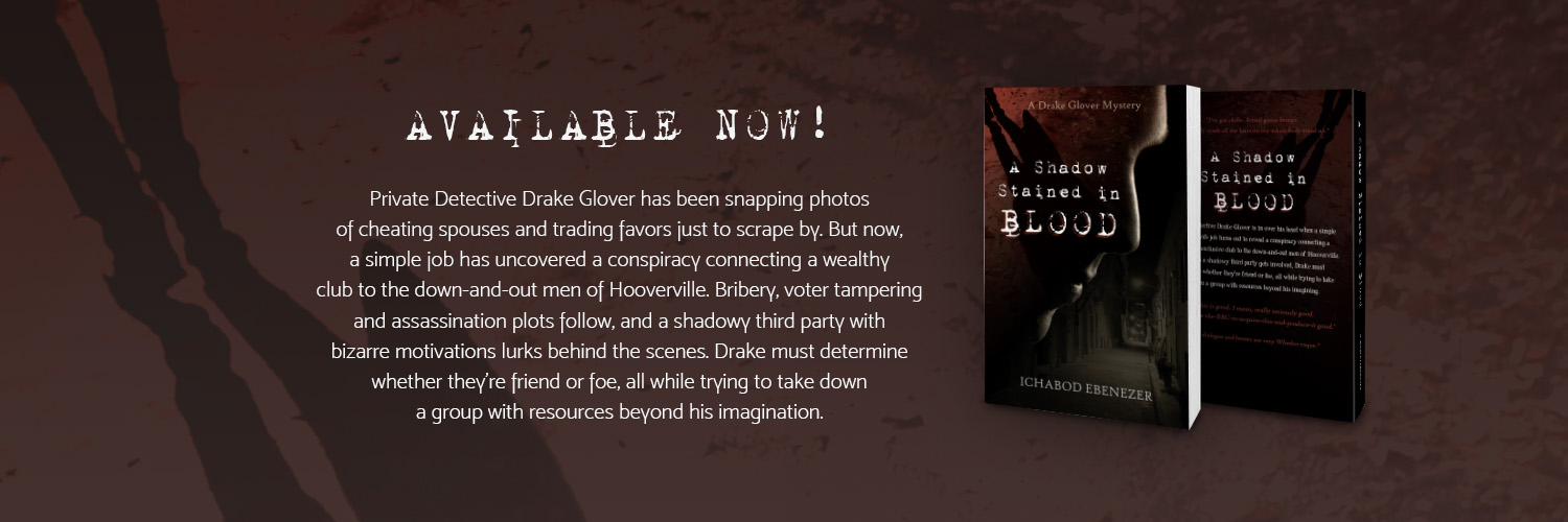 Twitter cover image with paperback mockup