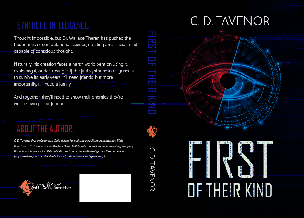 First of Their Kind by C. D. Tavenor, Book Cover Design by Violeta Nedkova