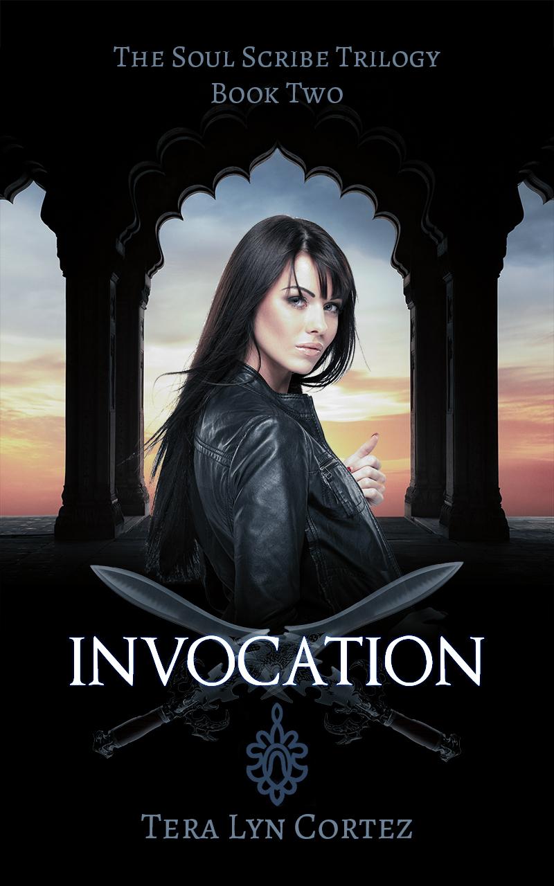 Invocation by tera Lyn Cortez, Book Cover Design by Violeta Nedkova