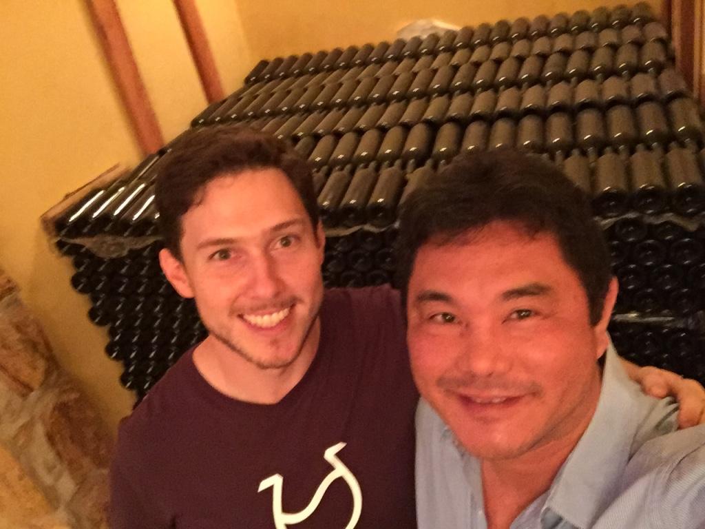 Luis Porto Junior e seus vinhos