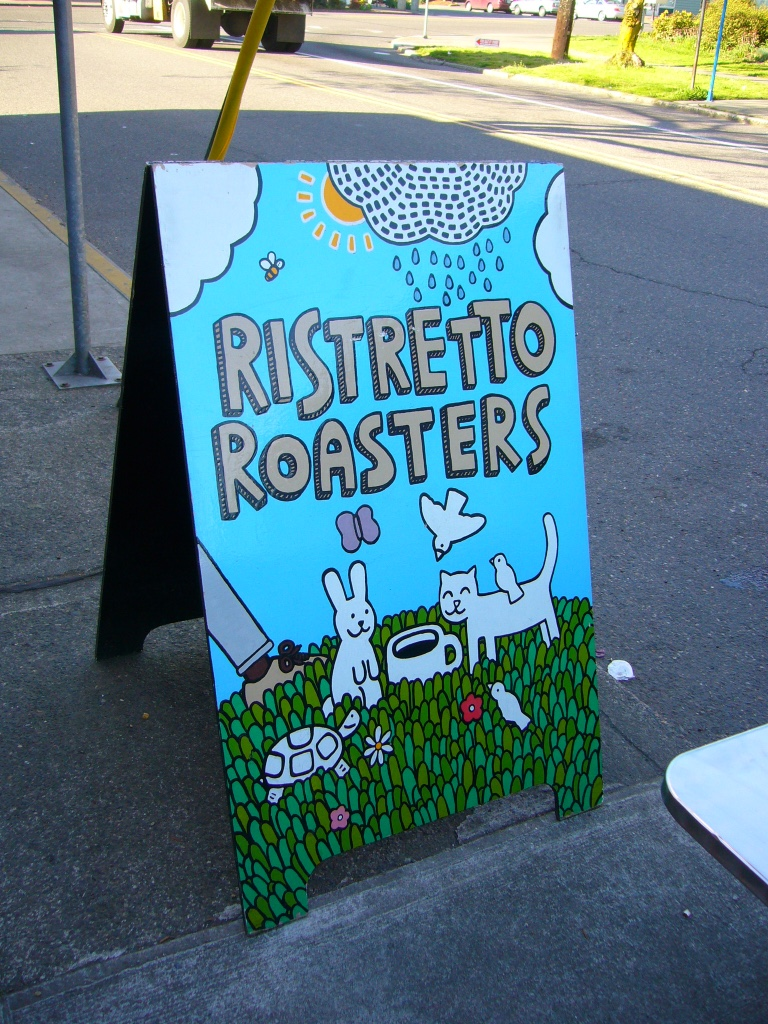 Ristretto Coffee Roaster, Portland, OR.