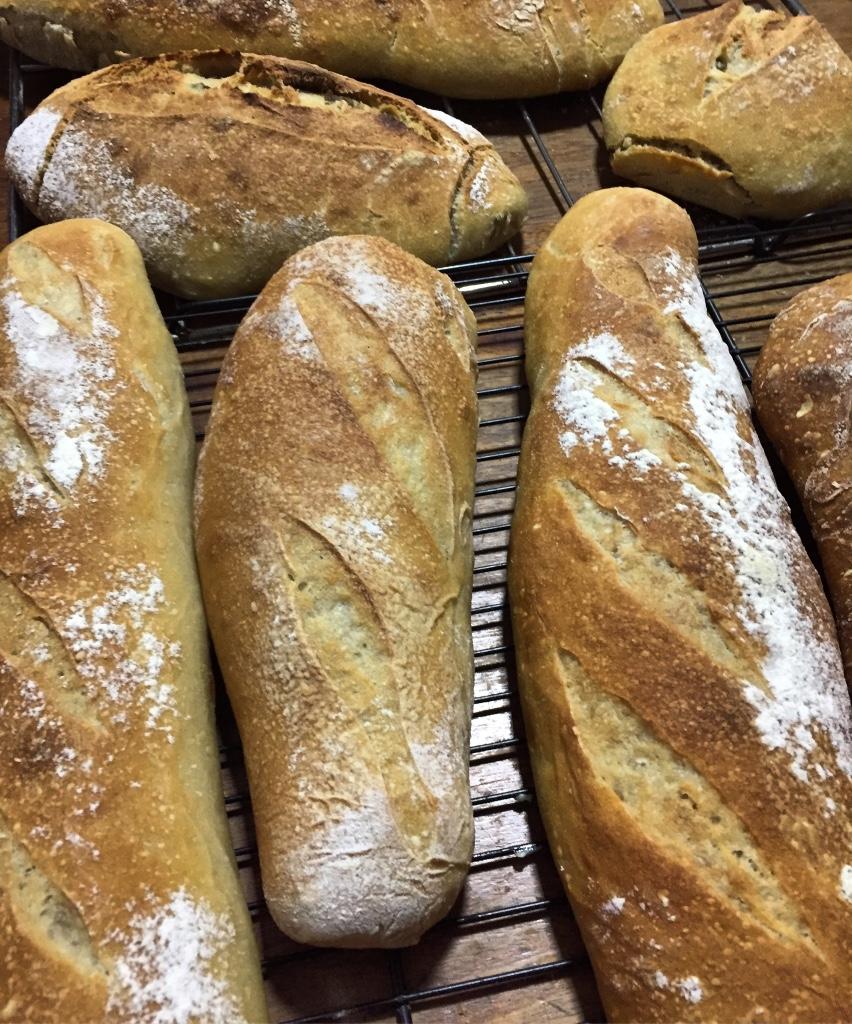 Pães de Levain - produção doméstica