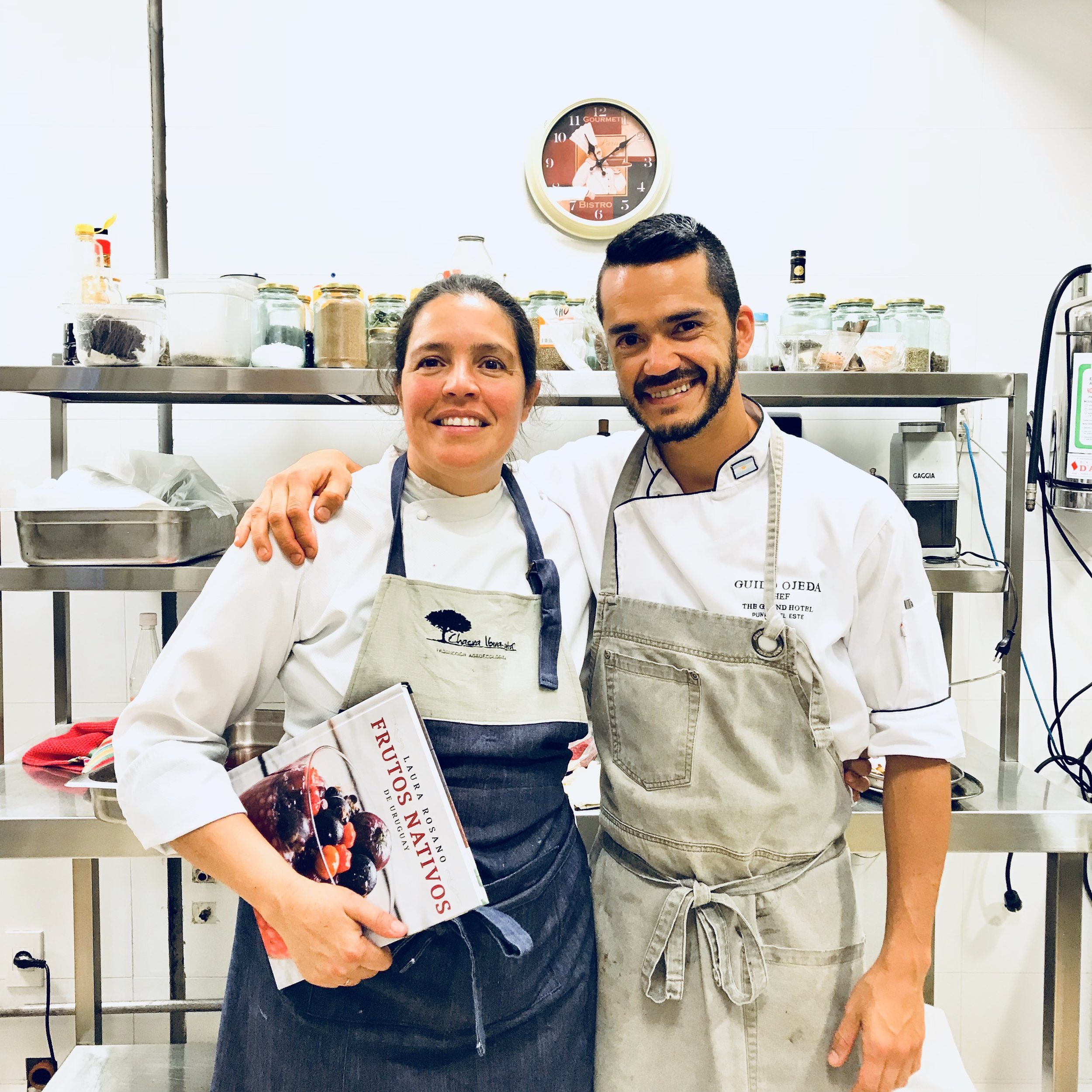 Chefs Laura Rosano y Guido Ojeda