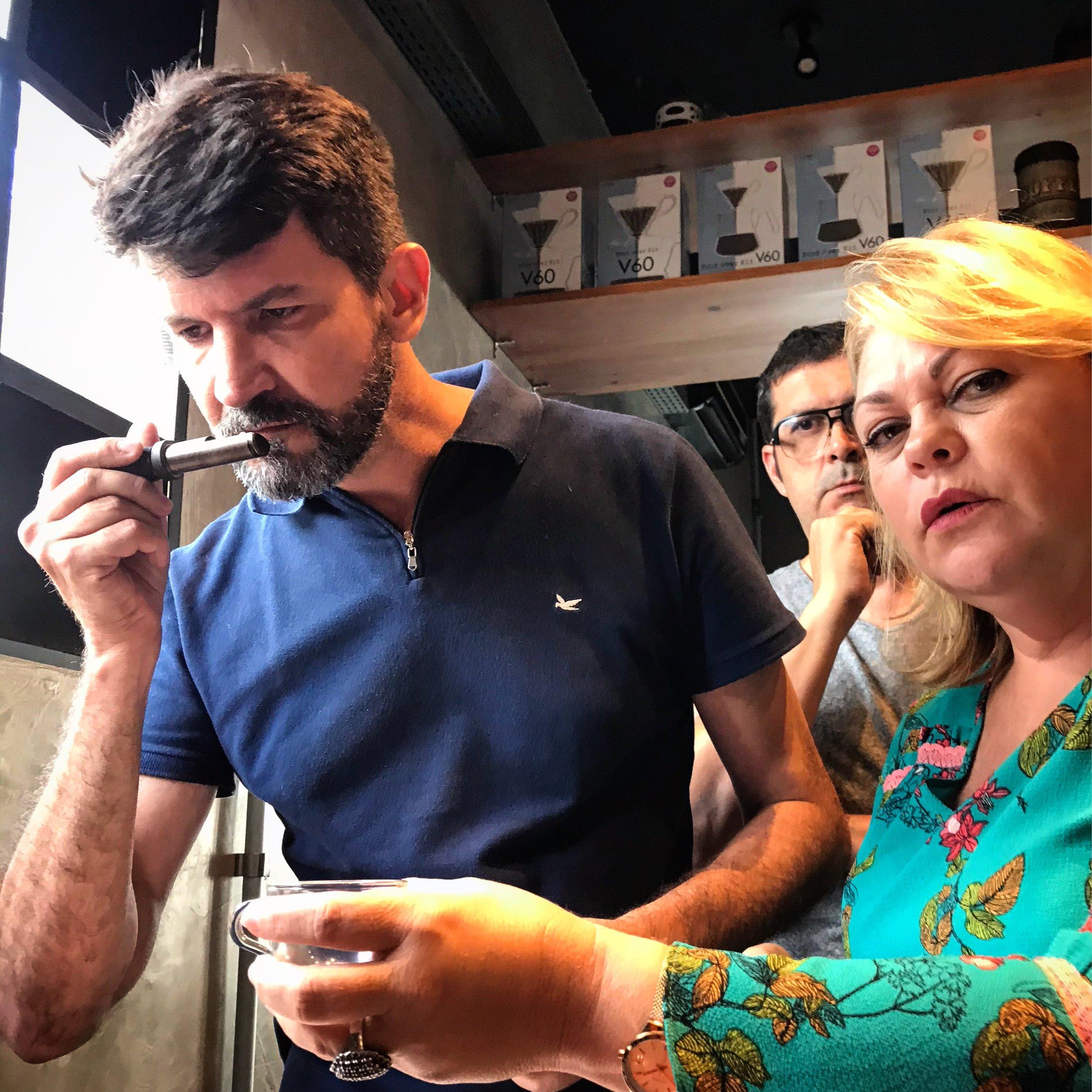 Ciência da Torra do Café, turma 01, Fábrica Conhecimento, Recife, PE