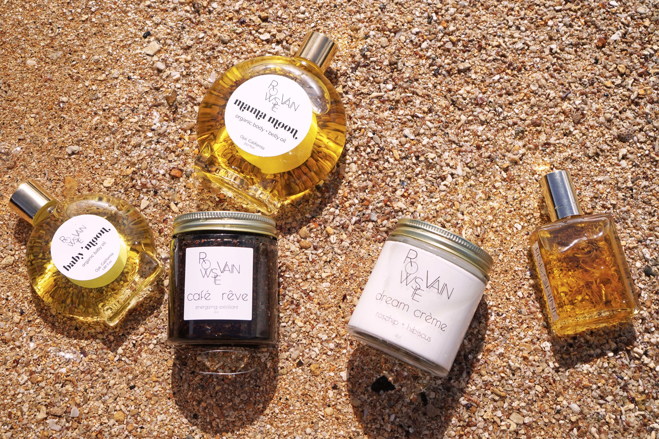 Rowsie Vain  natural skincare products