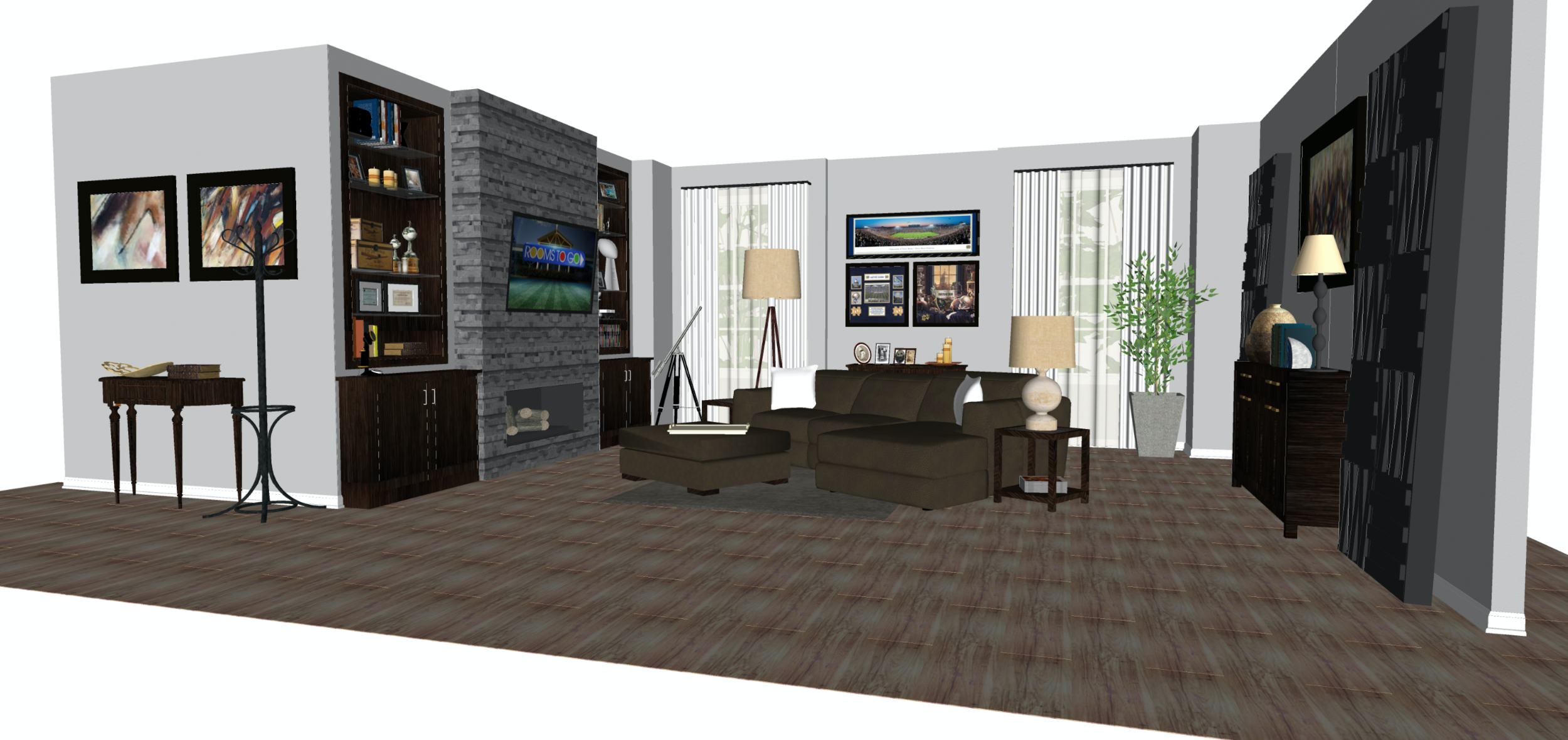 Rooms To Go Mancave