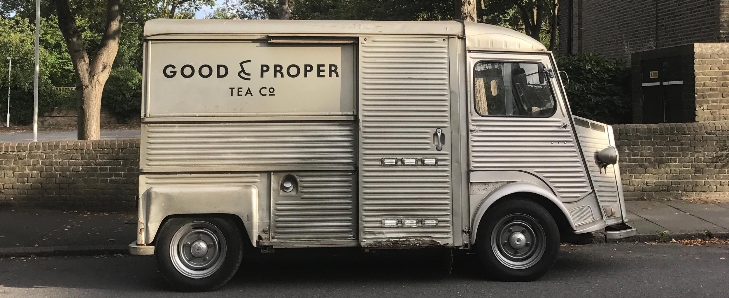 Watson, our tea van