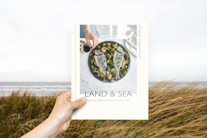 Alexandre Dudley Land & Sea recipe book