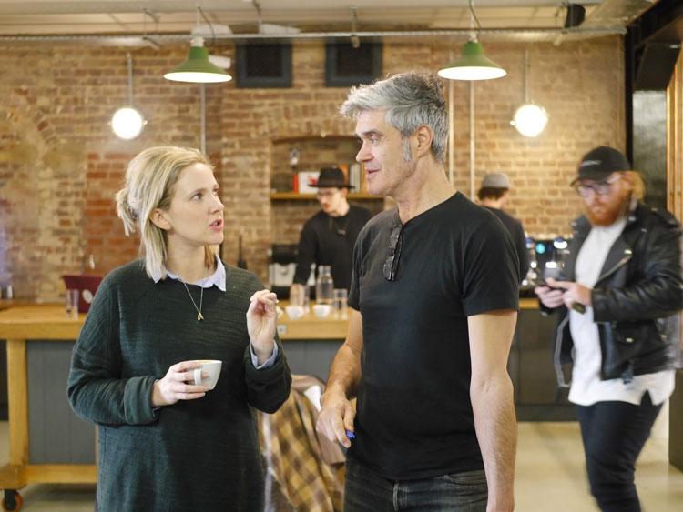 Emilie with founder of Volcano Coffee Works, Kurt Stewart