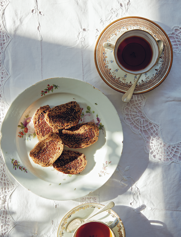 Henrietta Inman rooibos and fig roll recipe