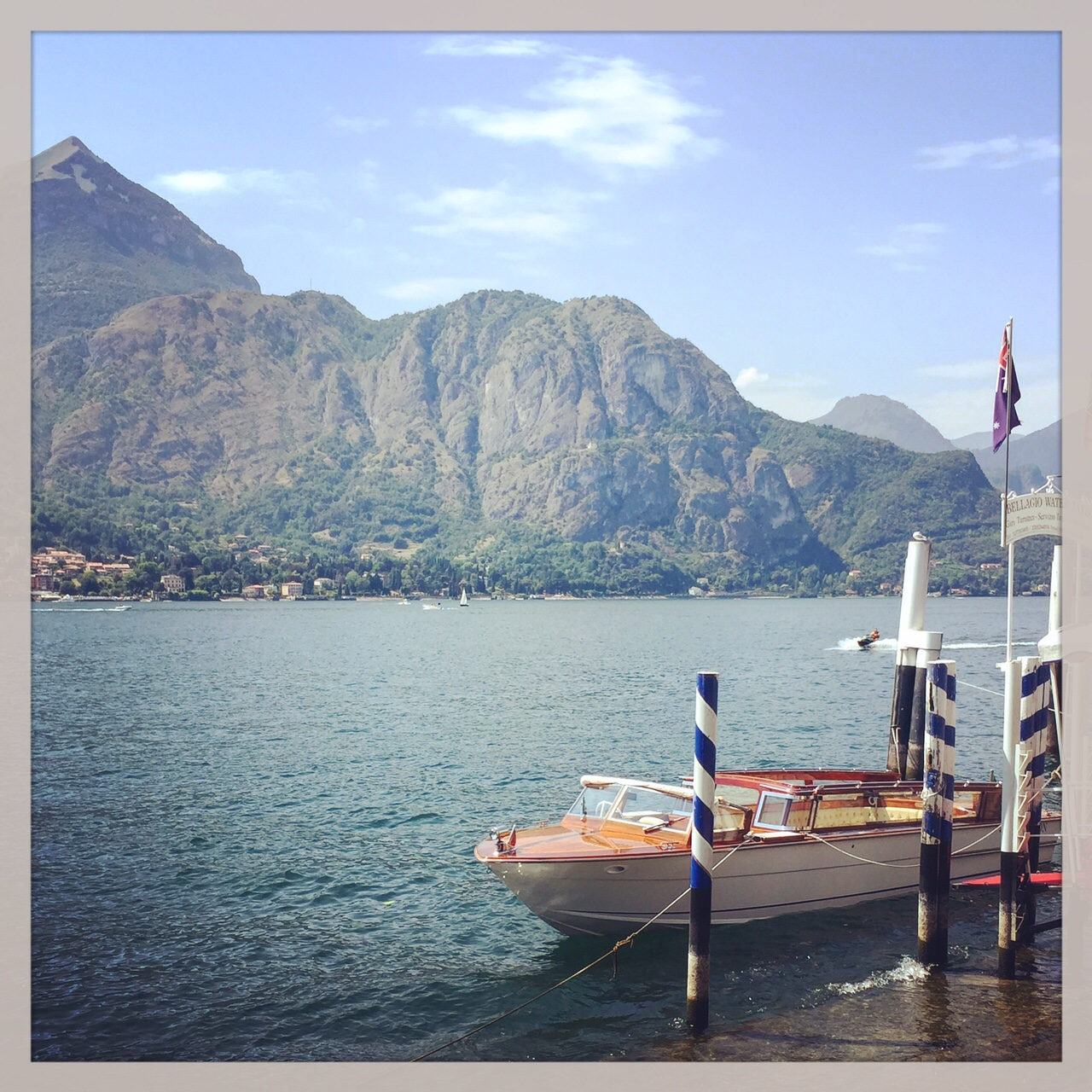 Lake Como, Italy on Morso Travel's food and wine tours of Italy.