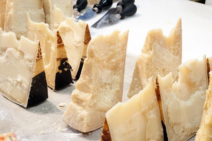 A variety of Italian Cheeses