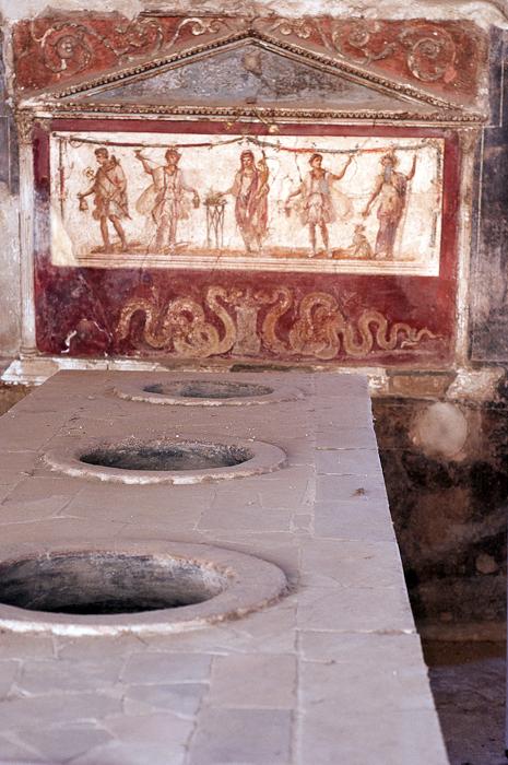 Take out shop Pompeii style