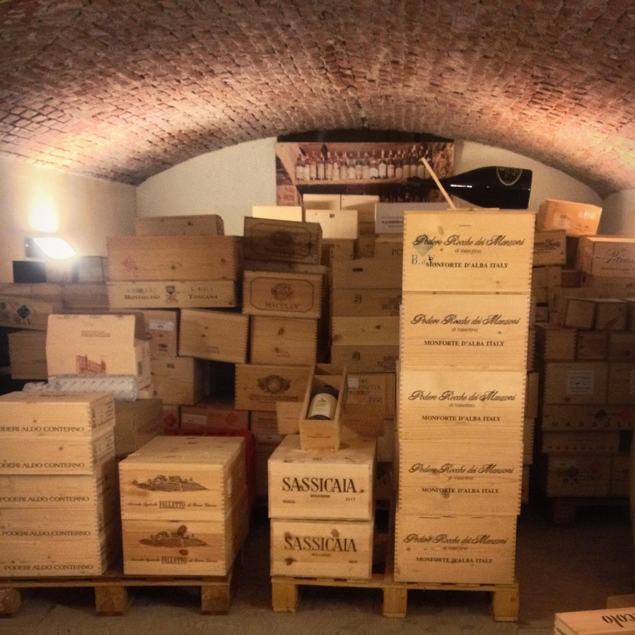 Wine Bank vault