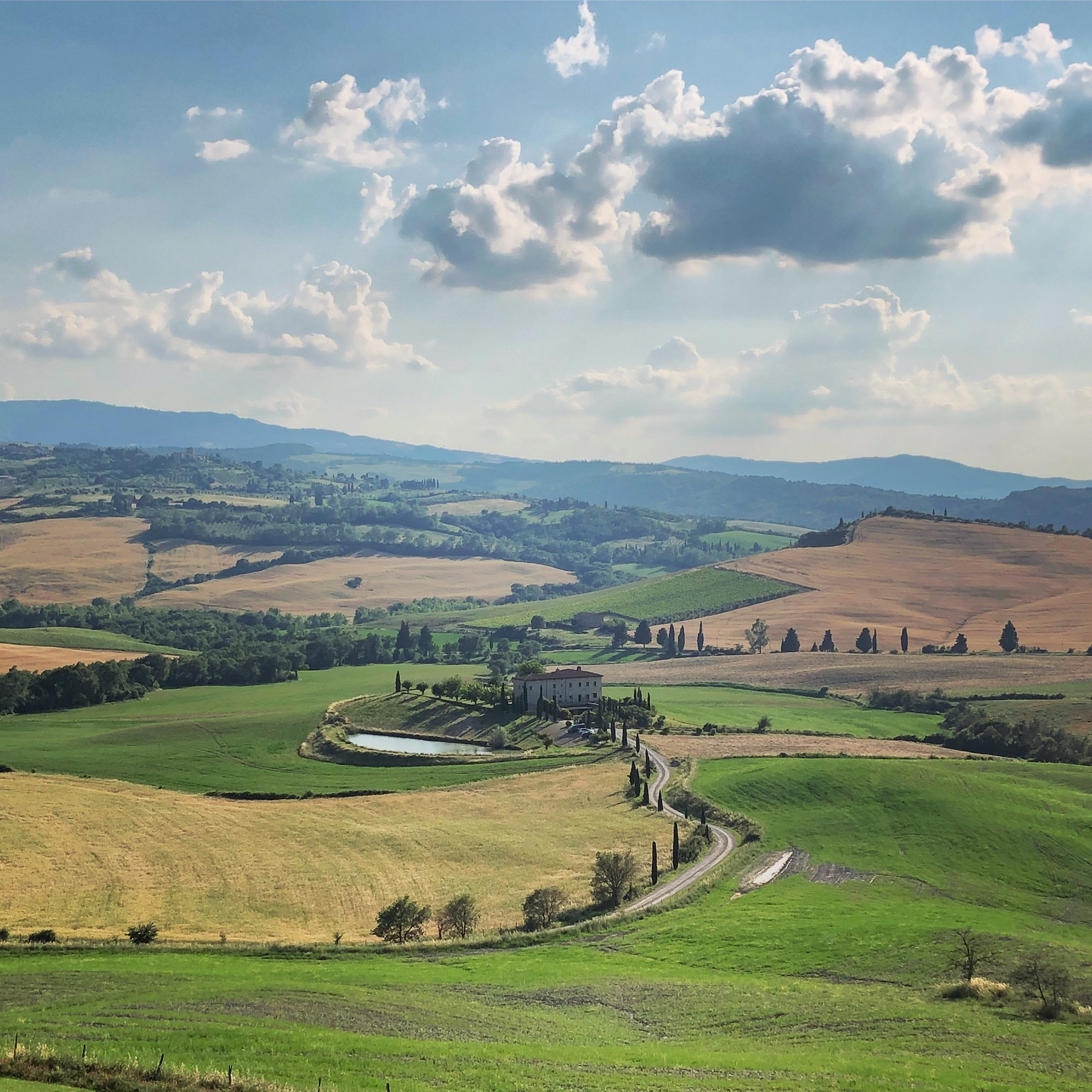Val d'Orcia, home of Brunello and lifelong memories.