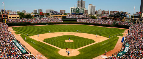 The Cubs are by far my least favorite MLB team, but it's hard to argue against the history and feel of Wrigley Field.  There really isn't anything amazing or special about it other than its unique characteristics.