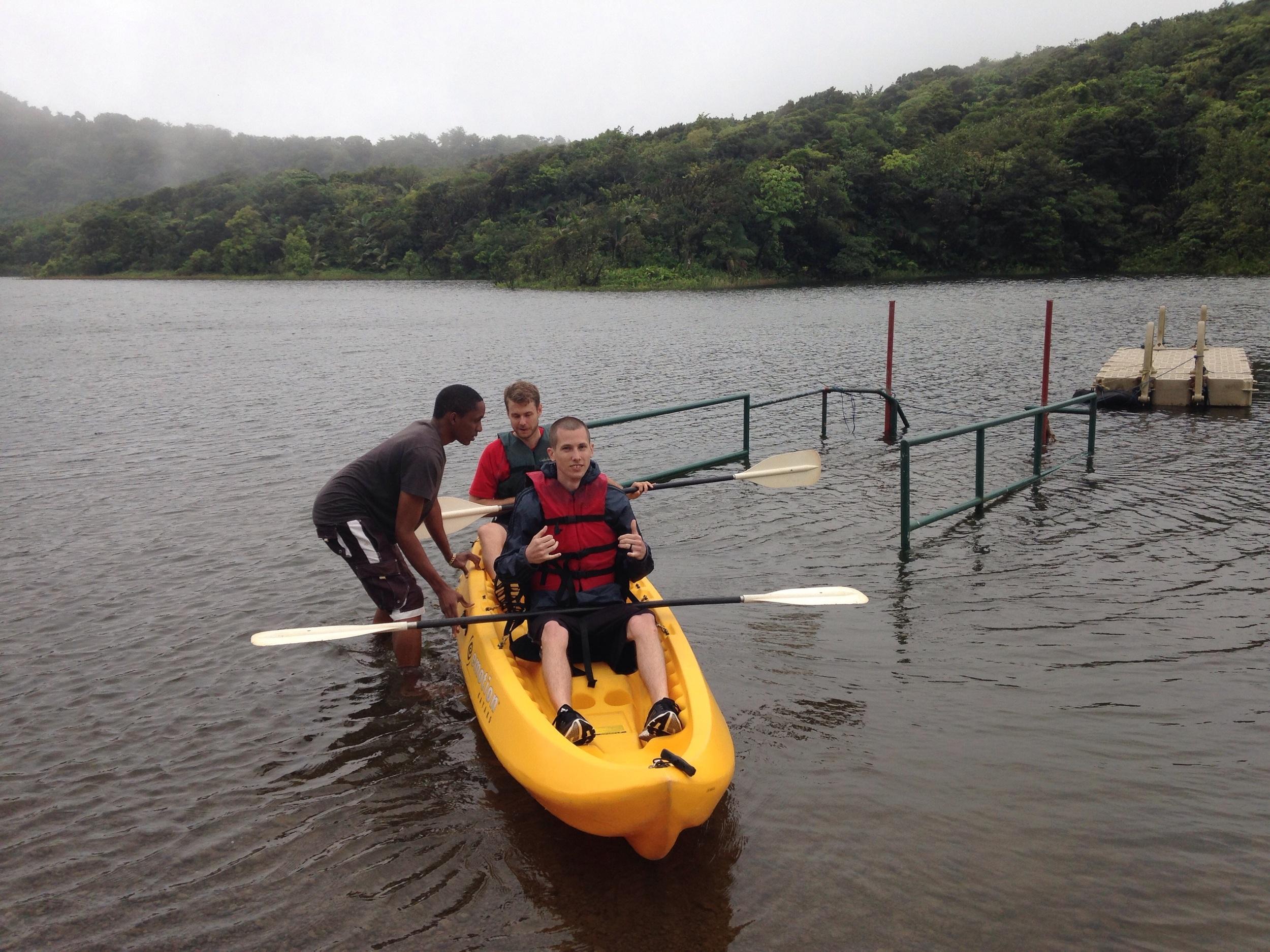 Fresh Water Lake kayaking