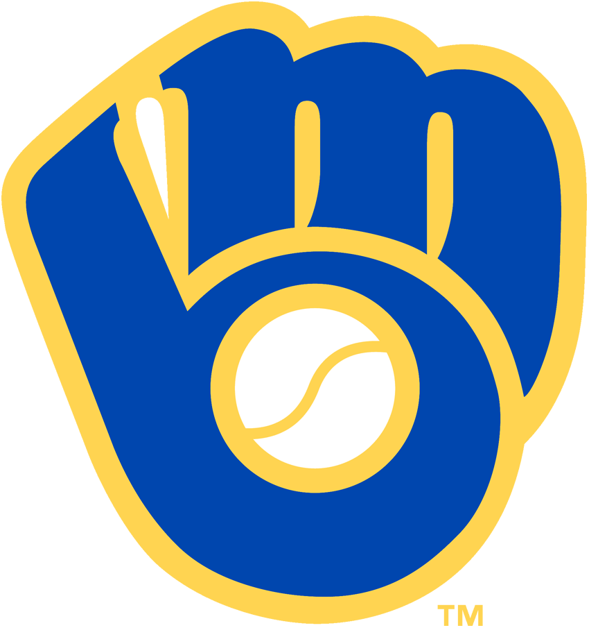The ball and glove logo is simple and creative.  Yes, I'm a Brewers fan, but how can you argue with this logo?  It is easily the best.
