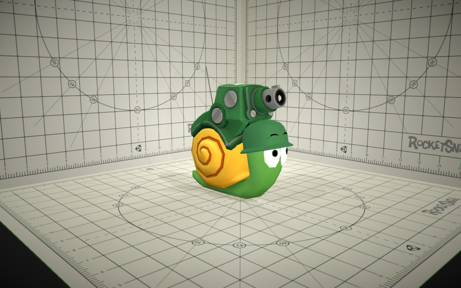 Epic Snails is a simple idea. What if snails were tanks?